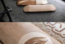 Skateboard Art Idea's