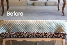 repurposed old furniture