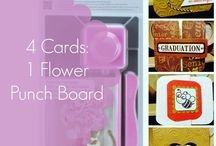 flower punch board