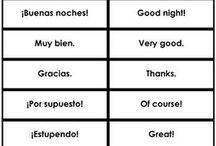 Spanish & English
