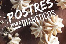 postres diabéticos