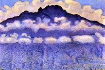 Ferdinand Hodler / kunstschilder
