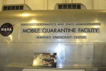Mobile Quarantine Facility / The Apollo Mobile Quarantine Facility for when the astronauts arrived back from the Moon and were possibly exposed to Moon germs.