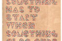 font / Hand drawn font