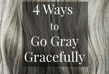 Going Gray Gracefully