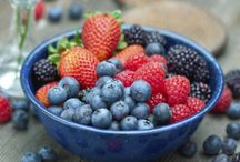 Berry Goodness / Delicious red, blue, pink hues