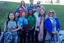 VISITA AL MUSEO DEL PRADO. ABRIL DE 2016. / Algunas fotos de la visita de ayer (jueves día 7 de abril) al Museo del Prado con los estudiantes de español para extranjeros.