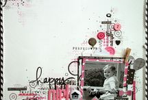 Scrapbooks / Scrapbooking layouts and embellishment ideas.