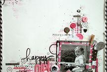 Scrapbooks / Scrapbooking layouts and embellishment ideas.