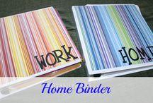 Binders / by LaDonna Beal