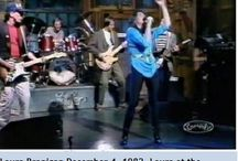 """Laura & TV-Shows / Laura visited several TV-shows, like """"American Bandstand"""",""""Solid Gold"""", """"Saturday Night Live"""", Merv Griffin and also co-hosted """"Rock Rolls On"""" with Chuck Berry."""
