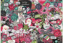Word Art World Digital Scrapbooking Page Kits