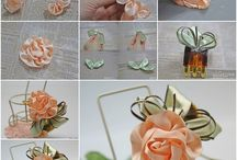 návody na výrobu květin