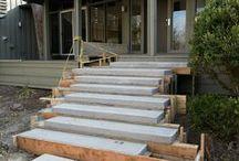 schody zahrada