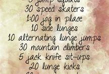 Workouts / everything i might need :)