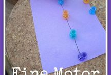 Motor and Sensory Skills / Learning tips and ideas that focus on motor and sensory skills.