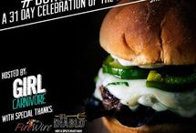 #BurgerMonth 2014 / Creations for #BurgerMonth and more!