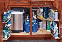 Small spaces storage / by Dena Constance