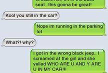 Weird text messages