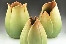 Folhas / Ceramicas