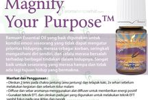 Young Living Magnify Your Purpose Essential Oils
