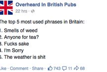 Only Britain would understand