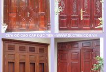 Cửa gỗ 4 cánh - Mẫu cửa gỗ 4 cánh đẹp