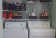 cuarto de lavado y plaanchado