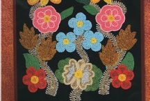 Floral  Beadwork