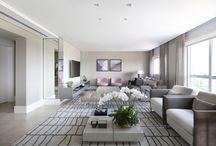 SALA DE ESTAR / Projetos de salas de estar pela arquiteta Karen Pisacane