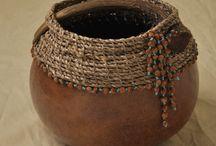 Вязание и глина