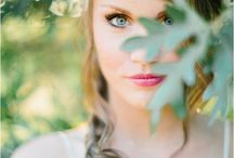 Outdoor Bridal Shoot Ideas / Here are some of my favourite creative outdoor photo-shoots done with Brides! There's something that's just so perfect with a beautifully dressed Bride and the outdoors and these photographers captured that essence so perfectly!