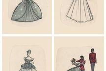 disney princess illustrations