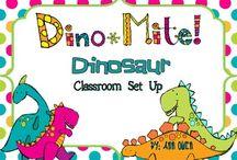 Dinosaur room decorations / by Dana Lawrence