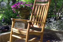Best Retirement Gifts 2015 / What are the best retirement gifts for 2015? We recommend the World's Finest Rocking Chair. / by Frontera Furniture
