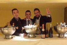 Degustación guiada de champanes / Degustación guiada de mano de Guillermo Cruz, Manu Jimenez y Fernando Mora. Organizado por La Papila