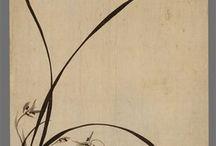 난초 김금자문인화