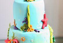 Ariel cake / Cake design ideas for Alicia's 6th birthday