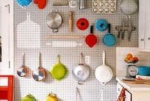 Space Saving Ideas and Organization / by Rochelle Eroh