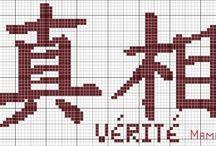 letras ideogramas chineses e outros