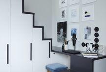 Escaliers, bureaux