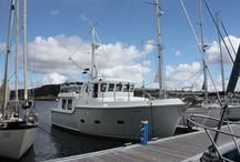 Nordhavn 40 - Iolair / Iolair is the latest Nordhavn 40 to be listed and is the last 40 built with the naturally aspirated Lugger 668D. From new, her home port has been Oban, Scotland, until recently arriving at Hamble where she is now listed for sale.