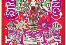 Rock 'n Roll Artwork (posters, handbills & album covers)) / by Lou Ann Young
