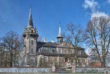 Naratów - Pałac / Pałac w Naratowie wzniesiony około 1735 roku. Obiekt opuszczony :(  Palace in Naratowie erected about 1735. Abandoned :(