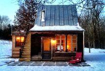 temporary winter cabin