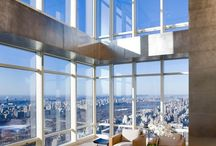 PENTHOUSES / Interior design of double volume area