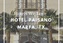 HOTELS WE LOVE / Favorite hotels around the globe