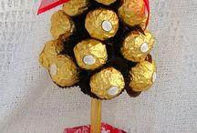 alberello cioccolatini