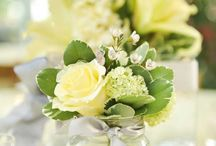 Reception centrepieces  / Party or bridal Floral centrepieces / by Grace Camobreco Reyes