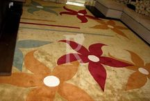 Customized Carpets / We believe that when it comes to a handmade carpet there should be no compromise. This is why we custom make each piece for you where you can select from over 1200 shades and any possible size. We have customized carpets for cars , powder rooms , home theatre, boutiques and even the Sheikh's palaces.